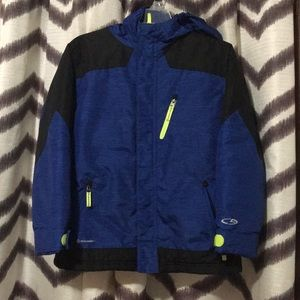 Youth 8/10 blue and black Champion winter jacket